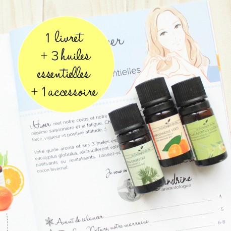 Coffret huiles essentielles indispensables