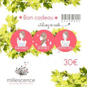 Carte cadeau Millescence