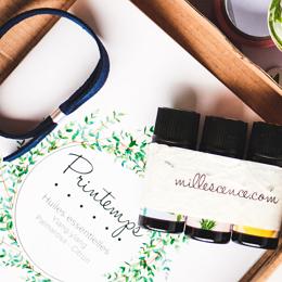 box printemps aux huiles essentielles bio