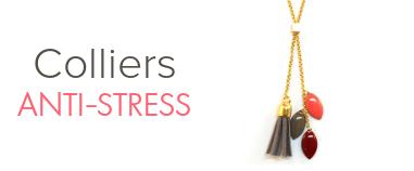 Collier anti-stress femme aux huiles essentielles bio Millescence